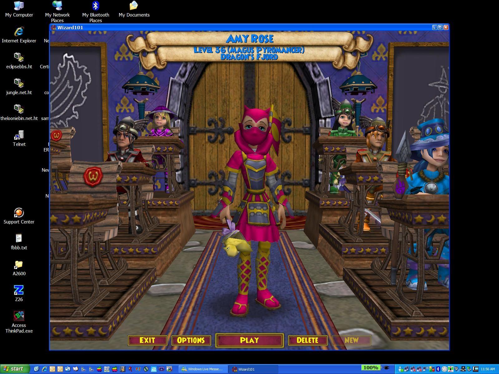 Amy Rose Fire Wizard Mmorpgcom Wizard101 Galleries