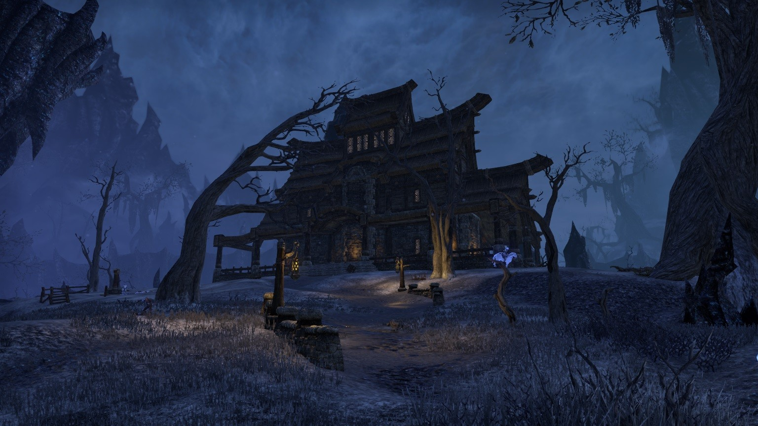 Elder Scrolls Online - This looks like a good inn to spend the night...right?