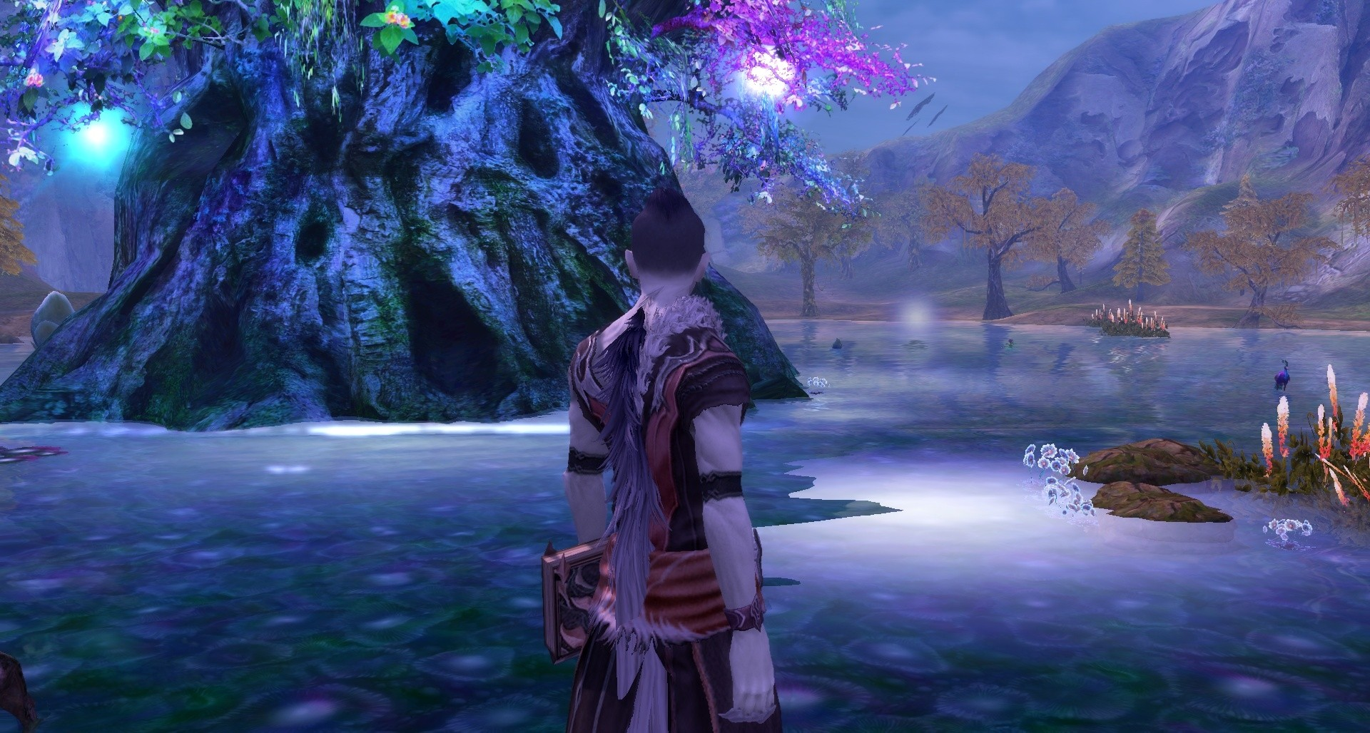 Aion - Water reflections are way nicer. Still feel like the game should have been like this right from launch, though.