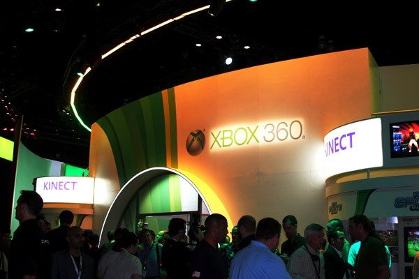Another look at the Xbox booth