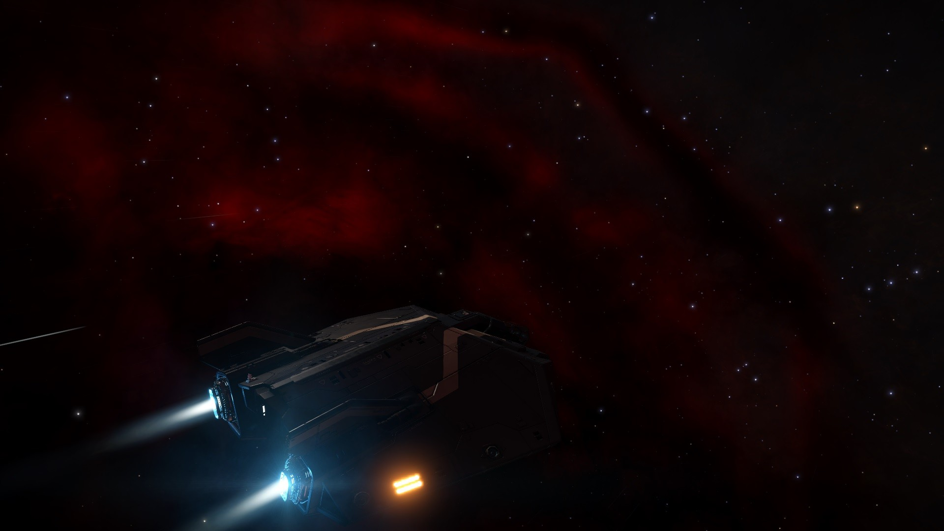 Elite: Dangerous - The California Nebula.