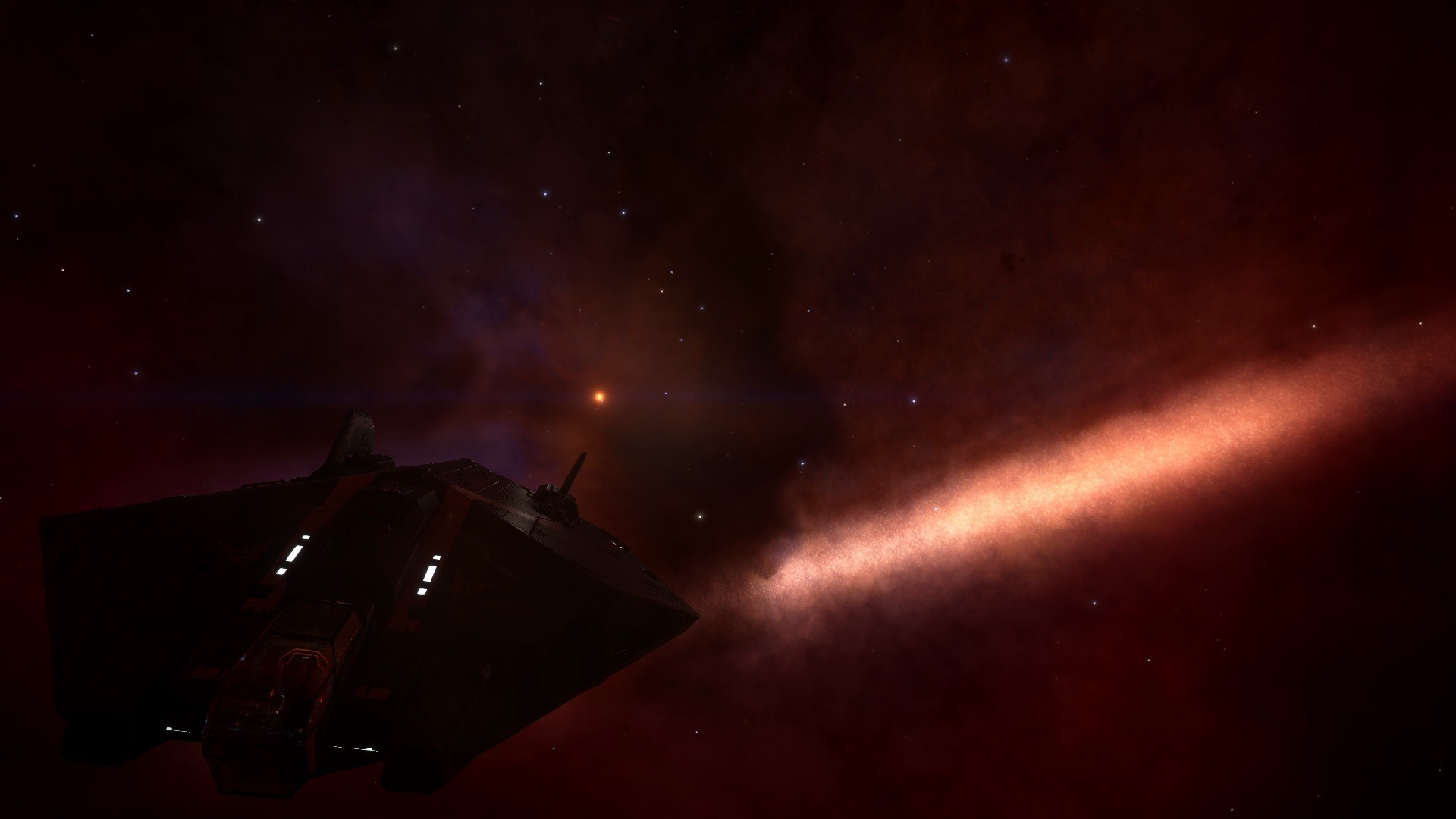 Elite: Dangerous - Milky Way from The Orion Nebula.