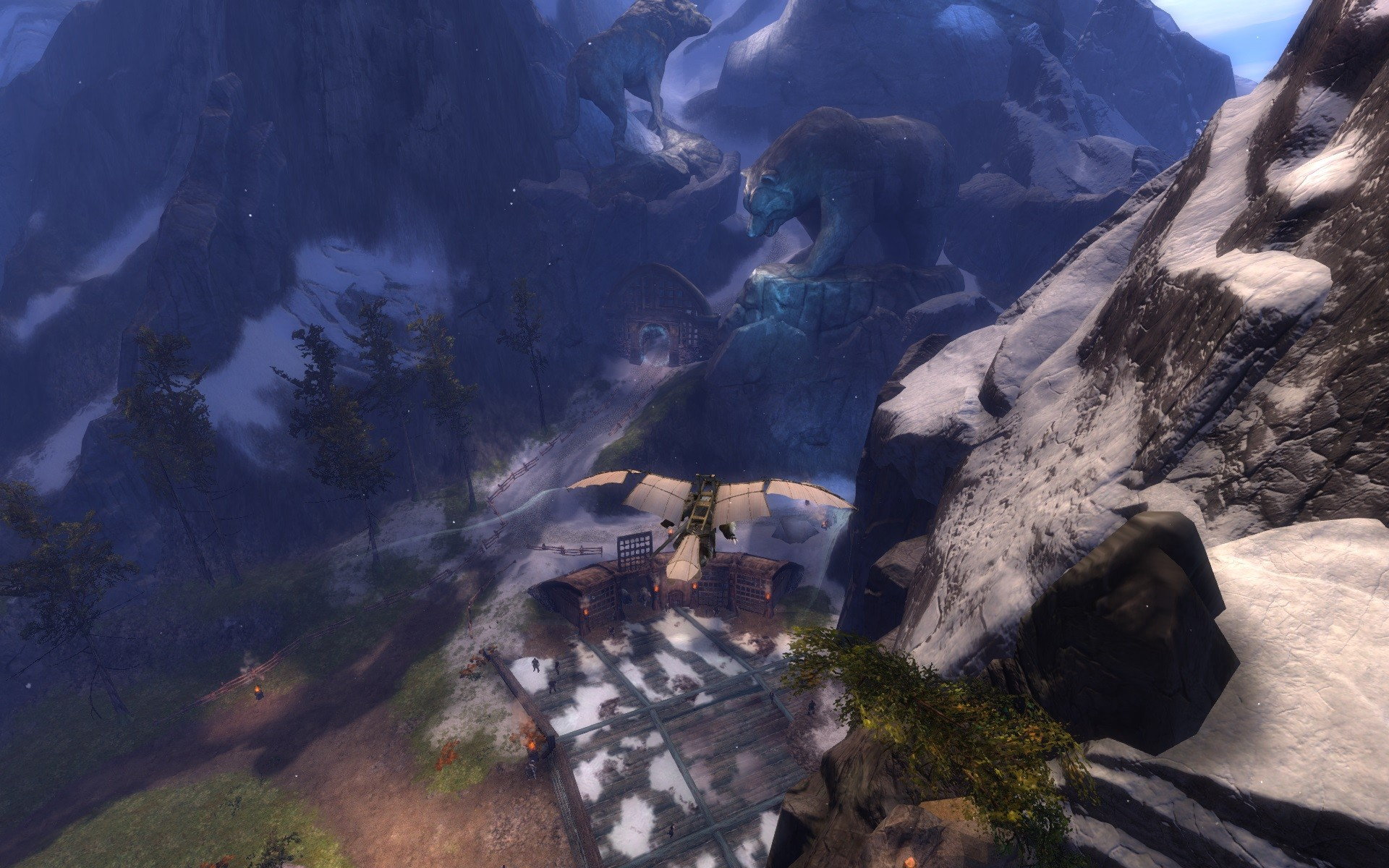 Guild Wars 2 - The norn starter zone.