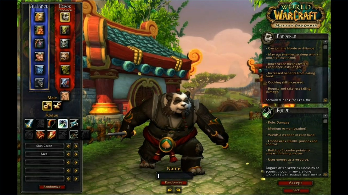 Image Result For Horde Monk Race