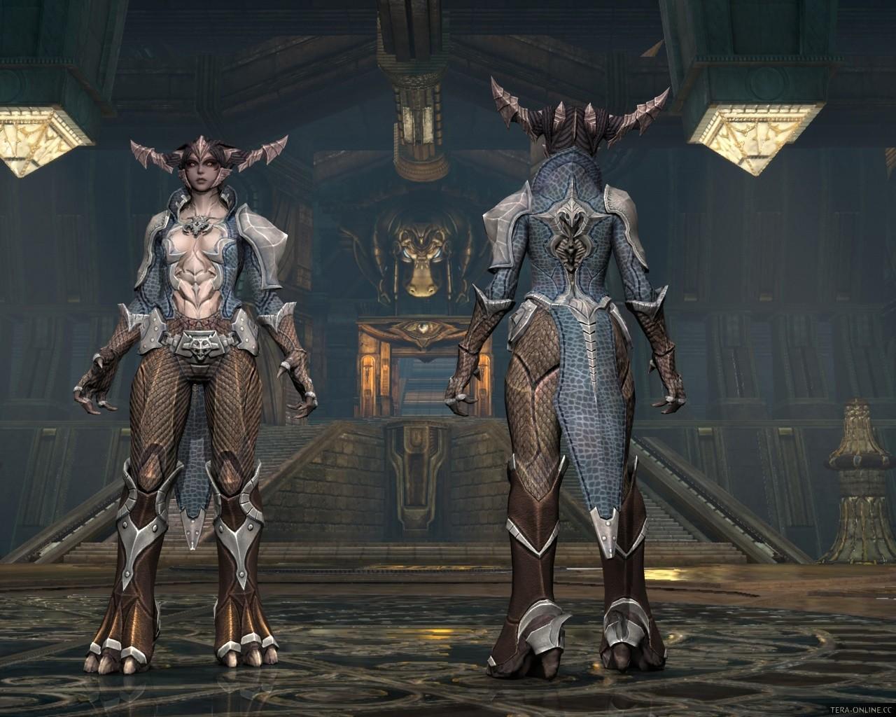 Portal Aoc Terra : Aman female leather armor mmorpg.com tera galleries