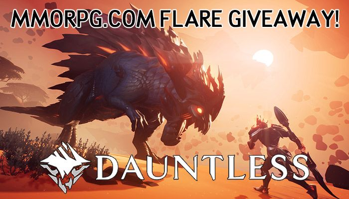 MMORPG.com Exclusive Dauntless Flares Giveaway!