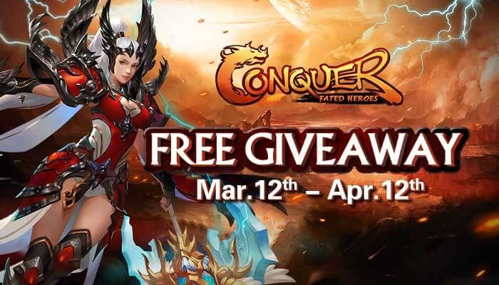Conquer Online Thunderstriker Novice Pack Giveaway!