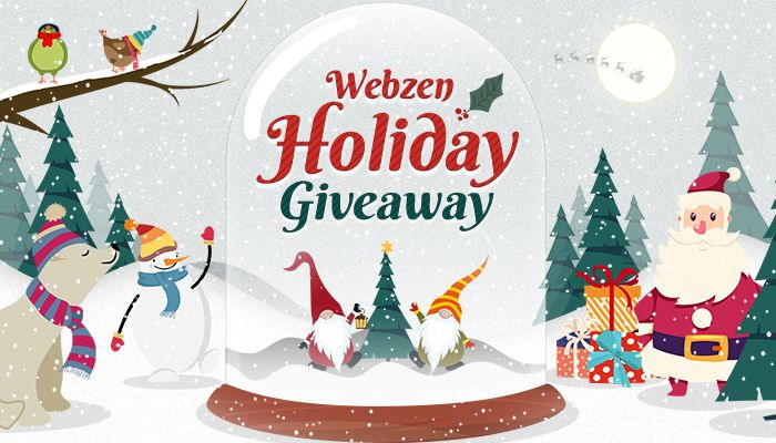 Webzen Winter Holiday Giveaway!