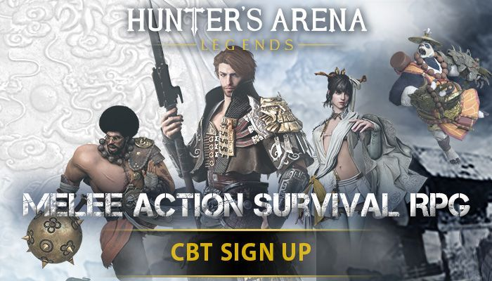 Hunters Arena: Legends Closed Beta Key Giveaway!