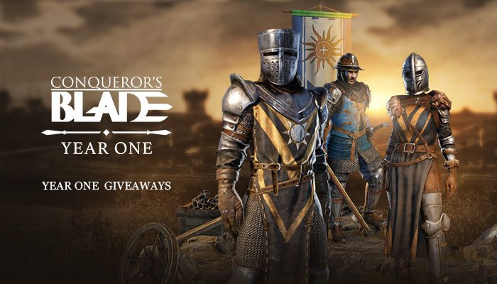 Conqueror's Blade Year One Pack Giveaway!