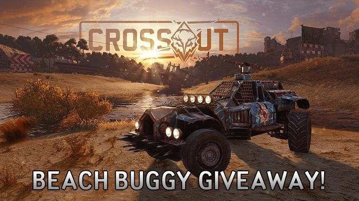 Crossout Beach Buggy Giveaway!