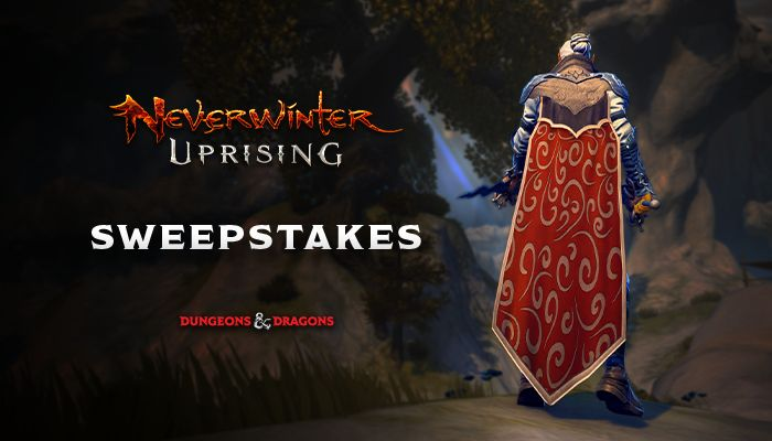 Neverwinter Uprising: Couturier Pack Sweepstakes (PC)!