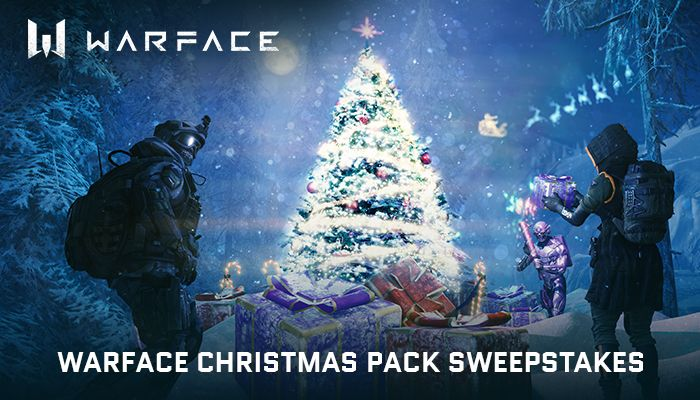 Warface Christmas Pack Sweepstakes!