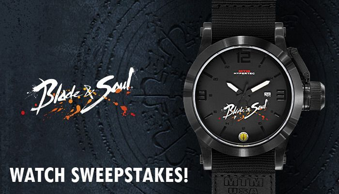 Blade & Soul Special Edition Watch Sweepstakes!