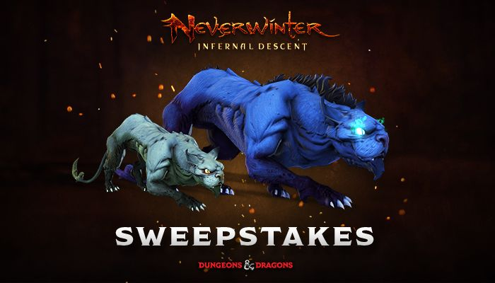 Neverwinter Pack of the Yeth Hound Sweepstakes!