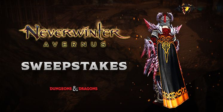 Neverwinter Gift of the Twisted Noble Sweepstakes!