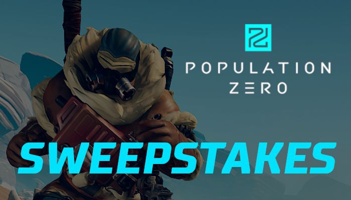 Population Zero Steam Key Sweepstakes!