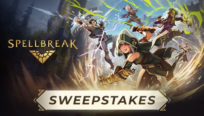 Spellbreak Starter Pack Sweepstakes!