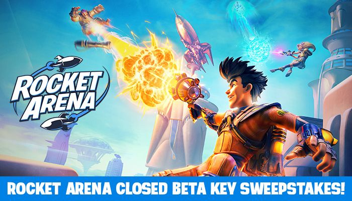 Rocket Arena Closed Beta Key Sweepstakes