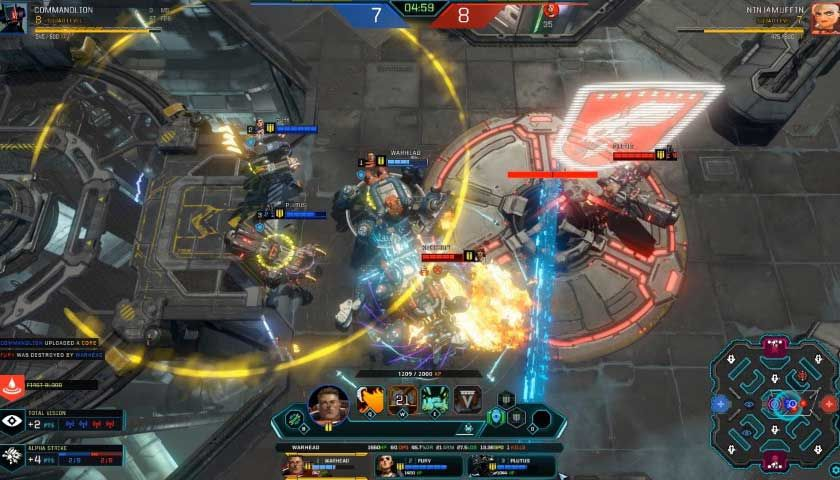 Dropzone is a MOBA-meets-RTS Done Right