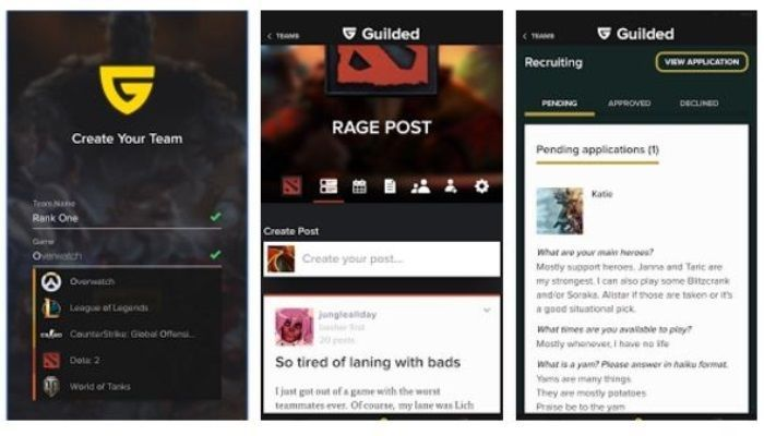Guilded App - Keeping Group Comms Open in a Single Handy App