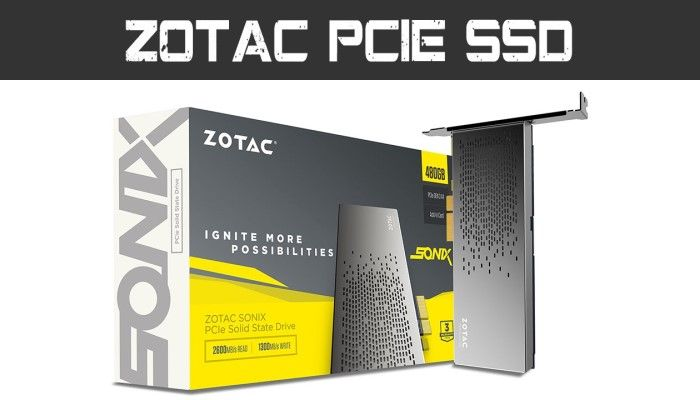Hardware Review: ZOTAC 10 Year Anniversary Sonix PCIe SSD