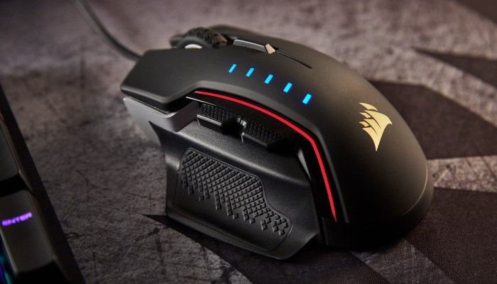 Corsair GLAIVE RGB Gaming Mouse: Silky Smooth, So Customizable