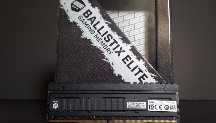 Ballistix Elite DDR4-3200: Blisteringly Fast