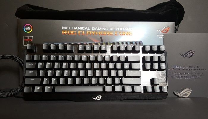 ASUS ROG Claymore Core – A Premium TKL With Tricks All Its Own