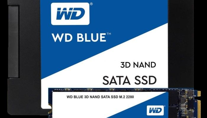 WD Blue 3D NAND SSD: WD Goes 3D