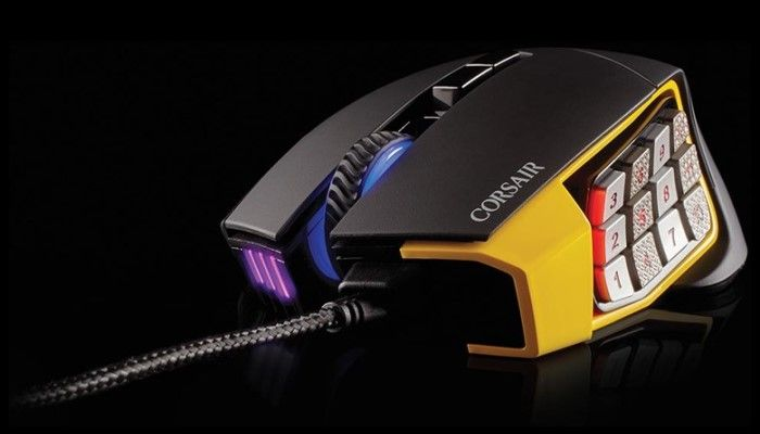 Corsair Scimitar RGB MOBA/MMO Gaming Mouse Review