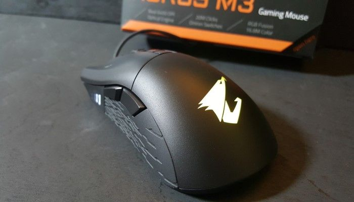 AORUS M3 Optical Gaming Mouse Review