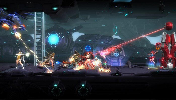 Side-Scrolling Action Meets MOBA