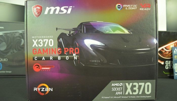 MSI X370 Gaming Pro Carbon Motherboard: Feature Rich