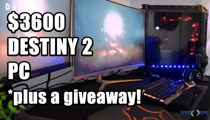 We Built a KILLER $3600 Ryzen PC for Destiny 2 (and are Giving Away a Ryzen 5 1500X!)