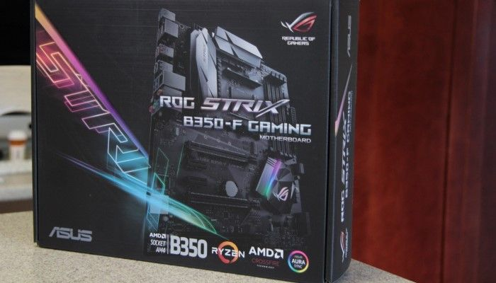 The ASUS B350-f Gaming Motherboard: Premium Feel at a Budget Price