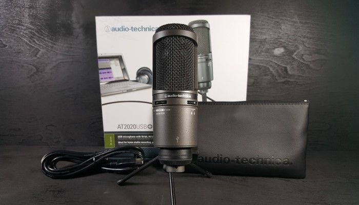 Audio-Technica AT2020USB+: Bringing the Studio Home