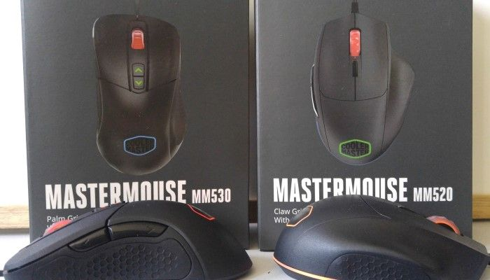 Cooler Master MM520/530 Gaming Mice: You Asked, They Delivered