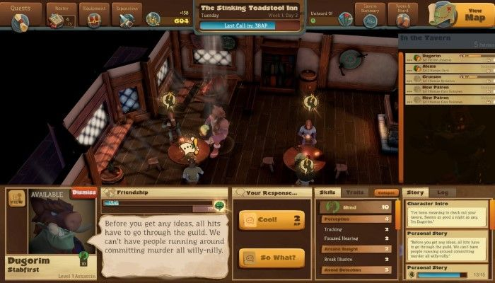 Epic Tavern Preview - You Become the Barkeep