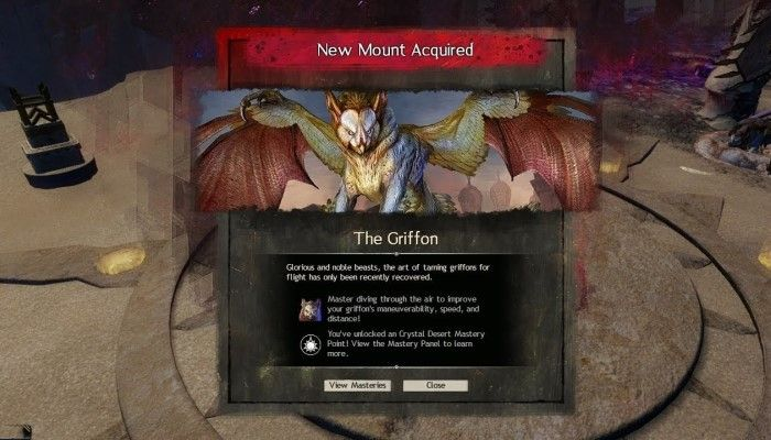 Path of Fire Has a Hidden Griffon Mount & Here's How You Get It - MMORPG.com