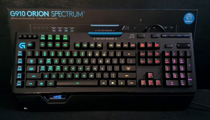 Logitech G910 Orion Spectrum: A New Flagship is Born
