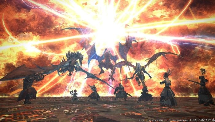 The Unending Coil of Bahamut is the Coolest Thing in FFXIV