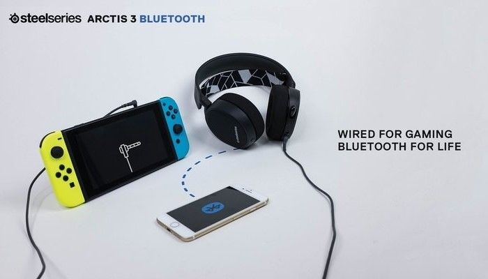 Steelseries Arctis 3 Bluetooth - Dual Audio with Bluetooth, the Killer Feature