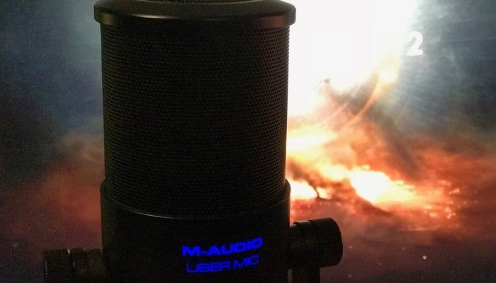 M-Audio Uber Mic: Pro Audio Power for the People