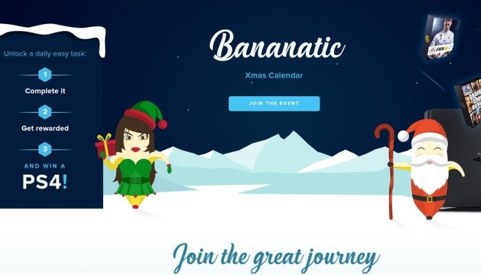 Bananatic Event - Join the Great Journey - SPONSORED