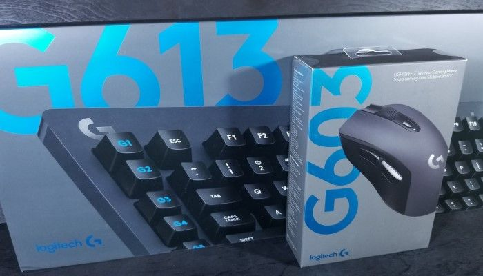 Logitech G613 &  G603 Wireless Mechanical Gaming Keyboard & LIGHTSPEED Mouse: The Speed of Light