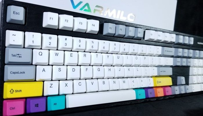 Varmilo MA104C CMYK Electrostatic Capactive Keyboard - A New Kind of EC