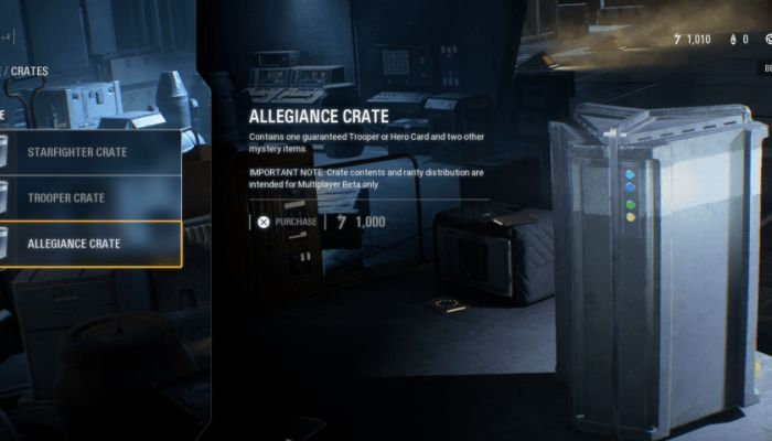Looting the Crates