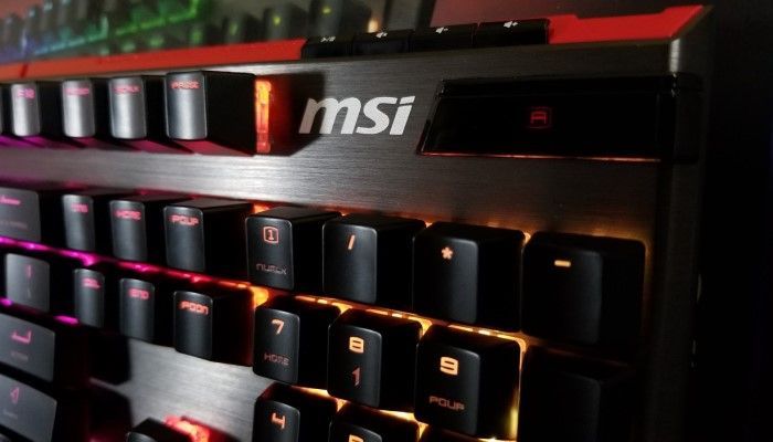 MSI Vigor GK80 Mechanical Keyboard - A Strong Entry for MSI Owners