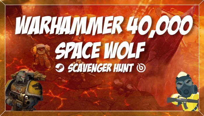 Bananatic Warhammer 40,000: Space Wolf Scavenger Hunt (Sponsored)